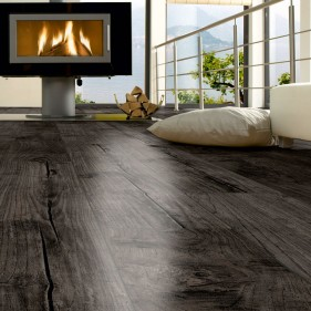 Teak Graphite Exclusive Laminate Flooring