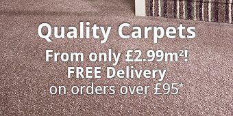 Carpets from £2.99m²